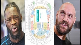 POOR TICKET SALES: DEONTAY WILDER vs TYSON FURY STILL NOT SOLD OUT!!