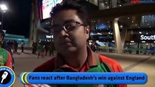 Bangladesh vs England ICC World Cup 2015 - Crazy Fans of Bangladeshi Cricket Team. Must Watch