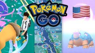 Tauros & Qurtel: Pokémon GO in Amerika + GO Fest Ausbeute | Pokémon GO Deutsch #681