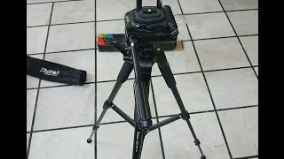 Photron Stedy Pro 560 Tripod Unboxing & Hands On