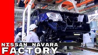 Nissan Navara Factory at the Bangkok, Thailand