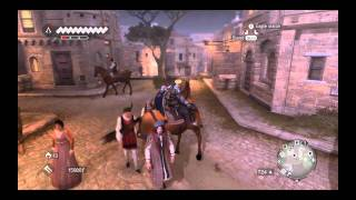 Easiest Horse to Beam Jump Assassins Creed Brotherhood Thief Guild Challenge