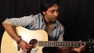 Happy Birthday Guitar Lesson In Hindi for beginners By VEER KUMAR