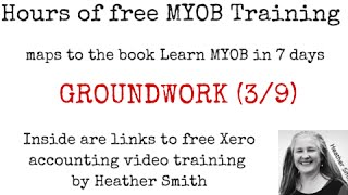 Free MYOB Training Learn MYOB IN 7 Days Day 2 Part 1 (3/9)