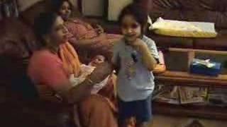 Janani Reciting Slokam 1