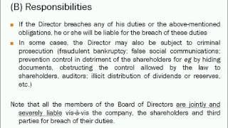 Director and Corporate Secretary Duties in Foreign Countries