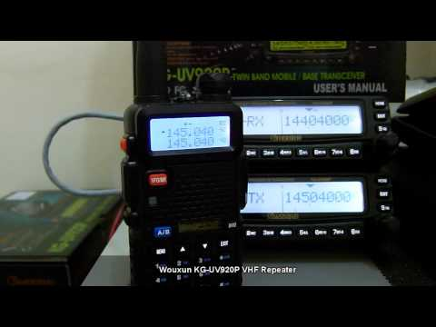 Wouxun KG UV920P VHF Repeater System