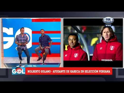 Nolberto Solano y su contundente respuesta en FOX Sports a Chile por reclamos