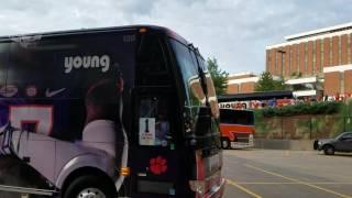 TigerNet.com- Clemson arrives at Auburn