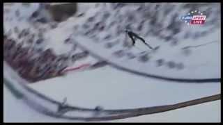 Jurij Tepes 220m - Harrachov 2013 crash