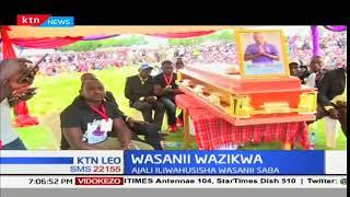 Mazishi ya wasani waliofariki kwenye ajali barabarani yaandaliwa katika kaunti ya Bomet