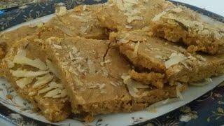 Chany Ki Daal Ka Halwa/Shab e barat ka Halwa/ Chana Daal Burfi*Khalida Kitchen*In Urdu / Hindi