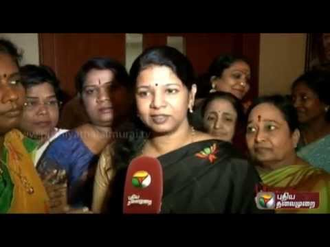 Kanimozhi's(Member of Parliament) speech as part of the campaign against smoking