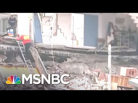 Search Continues For Dozens Of Missing School Children After Quake   MSNBC