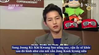 [Vietsub] Song Joong Ki tiết lộ bí mật về Lee Kwang Soo