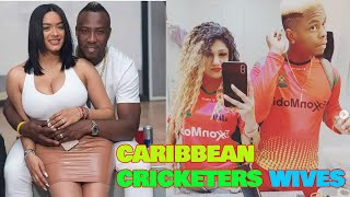 West indies cricketers and his wife and family