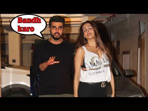 Xxx Mp4 Arjun Kapoor CAUGHT With Malaika Arora At Kareena Kapoor 39 S Birthday Party 2017 3gp Sex