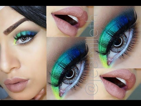 LOOK INSPIRADO PAVO REAL por Jeamileth Doll