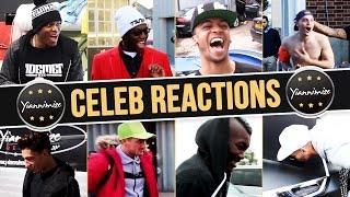 Celebrity Car Wrap Reactions Compilation