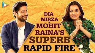Dia & Mohit's FANTASTIC Rapid Fire On Alia Bhatt, Vicky Kaushal, Salman Khan, Raju Hirani | Kaafir