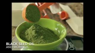 Black seed oil and Moringa the healing benefits.