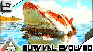 Megalodon Tamed! ARK: Survival Evolved E18 ( Ark Ragnarok Map )