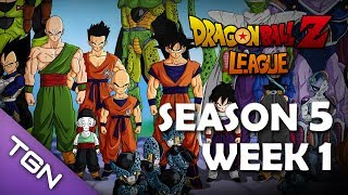 DragonBall Z League : Season 5 (Week 1, Episode 1)