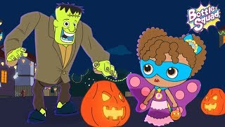 Its Halloween Night Bottle Squad Scary Nursery Rhymes Halloween Videos Kids Songs