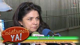 Victoria Ruffo habla sobre el éxito de Eugenio Derbez   Cuéntamelo YA!