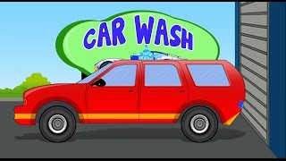 Fire Chief Car | Car Wash | Video for Kids & Toddlers