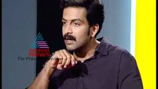 """Prithviraj Interview by TN Gopakumar"" - On Record Sep11 2011 Part 1"