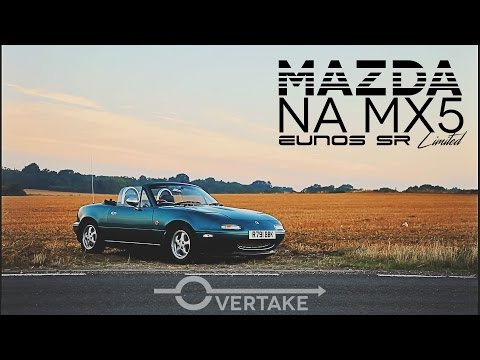 MX5 Mk1 Review and Drive Miata Eunos SR Limited