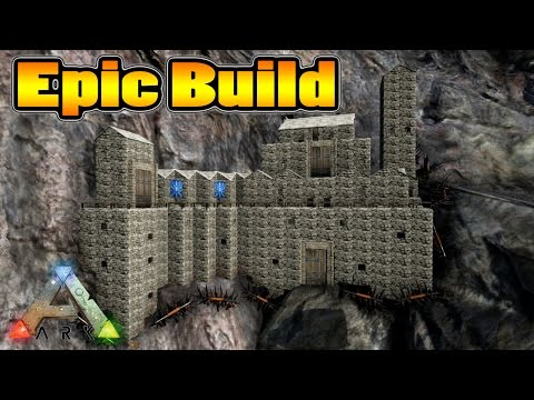 Attractive Ark Survival Evolved   Epic Cliff Base Build   PlayItHub Largest Videos Hub  .