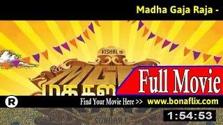 Watch: Madha Gaja Raja Full Movie Online
