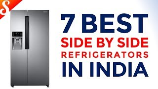 7 Best Side by Side Refrigerators in India with Price | Smart Refrigerators