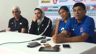 Asian U23: PH-Iran post game presscon