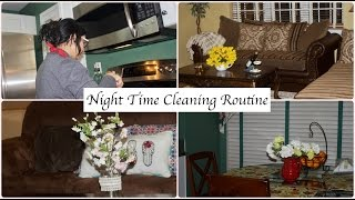 My Night Time Cleaning Routine | Indian Night Time Kitchen Routine