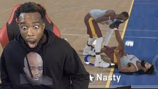 LEBRON JAMES TOUCHED ME THE WRONG WAY! ** NOT CLICKBAIT** NBA 2k18 MyCareer