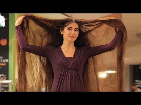 Xxx Mp4 Real Life Rapunzel Has 90 Inch Long Hair 3gp Sex