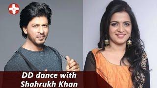 DD dance with Shahrukh Khan | Vijay TV | Vijay Awards 2014 | Divya Darshini