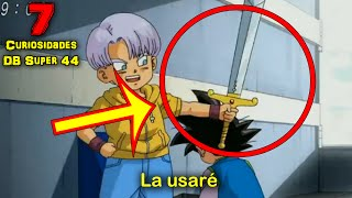 7 Curiosidades y Errores de Dragon Ball SUPER 44 | Dash Aniston