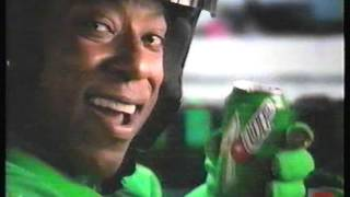 Orlando Jones 7UP Television Commercial 2001 Race Car