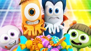 Funny Animated Cartoon | Spookiz Special Party Songs for Kids To Dance To 스푸키즈 Cartoon for Children