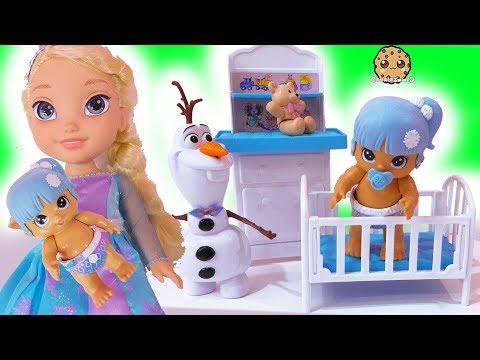 Xxx Mp4 New Baby Disney Frozen Kids Queen Elsa Anna Babysit Walk Talk Feed Doll 3gp Sex