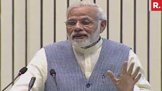 PM Modi's Speech On Economy - LIVE