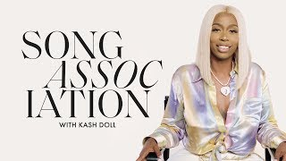 Kash Doll Sings Frank Ocean, Jennifer Lopez and Alicia Keys in a Game of Song Association | ELLE