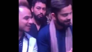 Virat Kohli singing with | Ranjit Bawa | Milind |@ Yuvraj singh's wedding | 2016