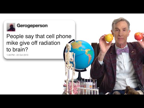 Bill Nye Answers Science Questions From Twitter Tech Support WIRED