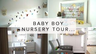 BABY BOY NURSERY ROOM TOUR- TRAVEL/BIRD THEME