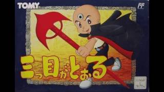 Mitsume ga Tooru - Третий Глаз (1992) [NES / Dendy / RUS] 1080p/60
